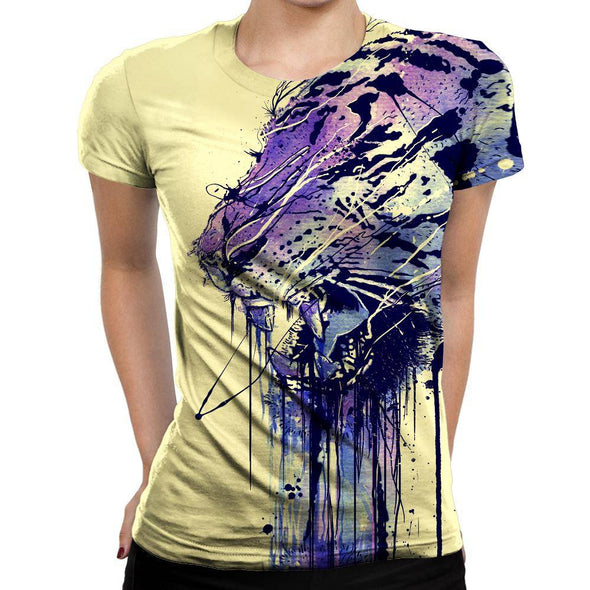 Tiger Womens T-Shirt