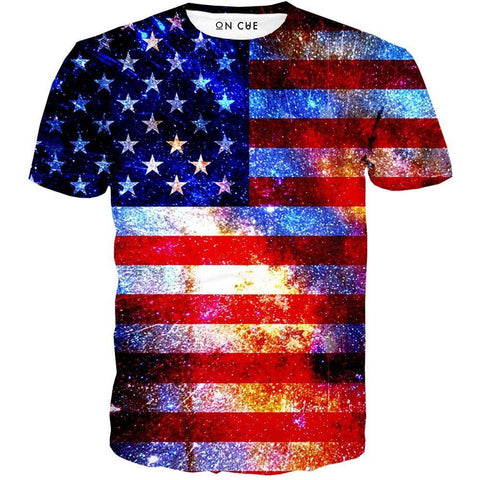 Image of American Flag T-Shirt