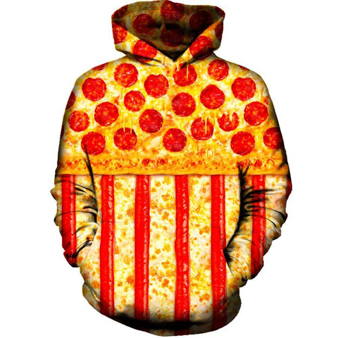 United States Pizza Hoodie