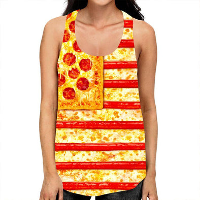 Pizza Racerback