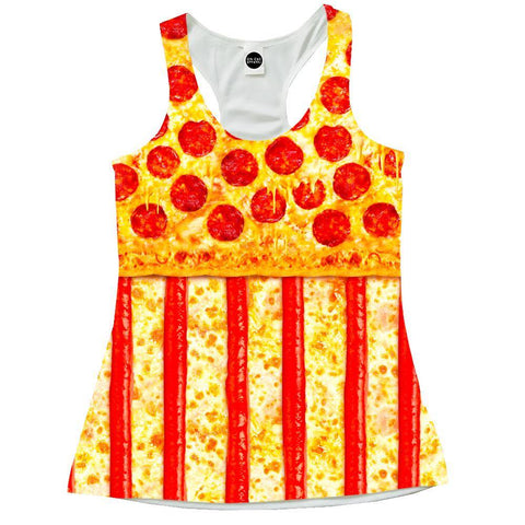 United States Pizza Racerback