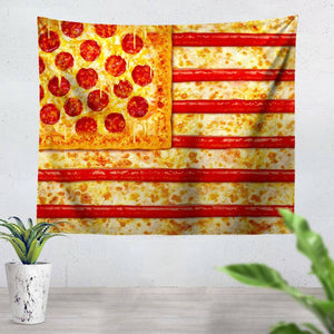 Pizza Tapestry