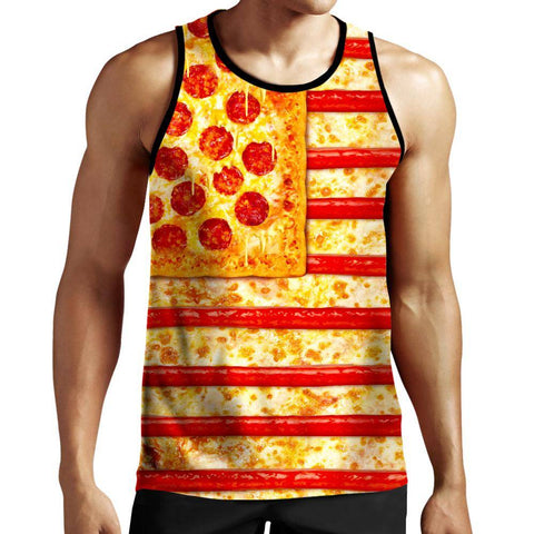 Image of Pizza Tank Top