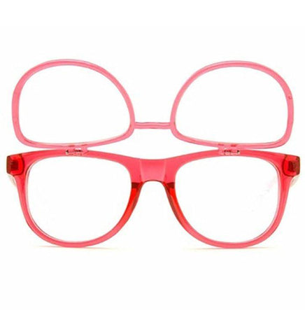 GloFX Matrix Glasses- Transparent Red