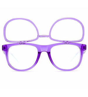 GloFX Matrix Glasses- Transparent Purple