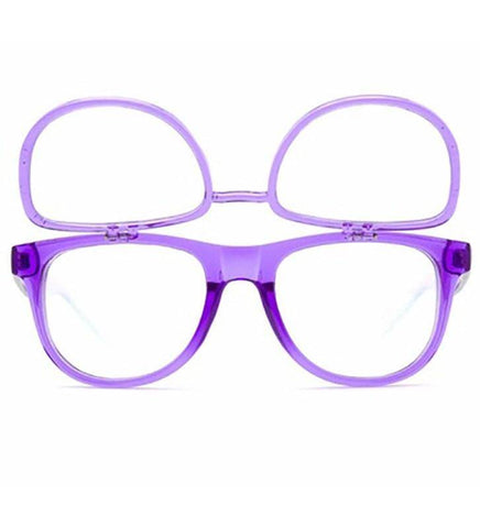 Image of GloFX Matrix Glasses- Transparent Purple