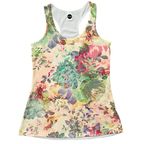 Flower Abstraction Racerback