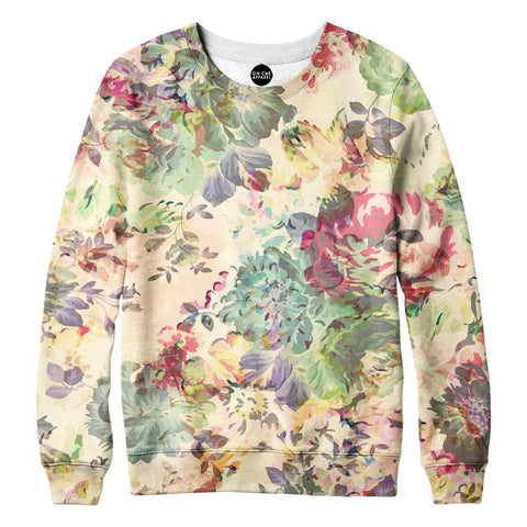 Flower Abstraction Sweatshirt