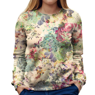 Flower Womens Sweatshirt
