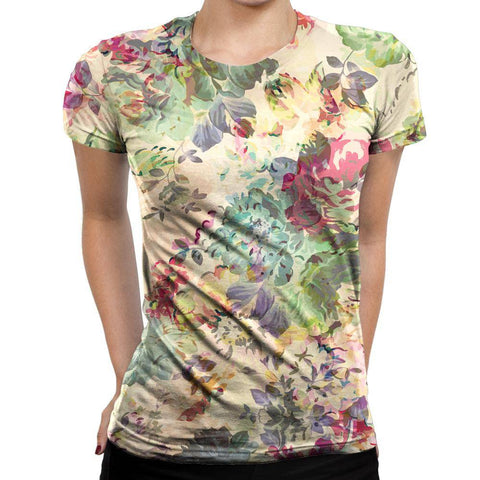 Image of Flower Womens T-Shirt
