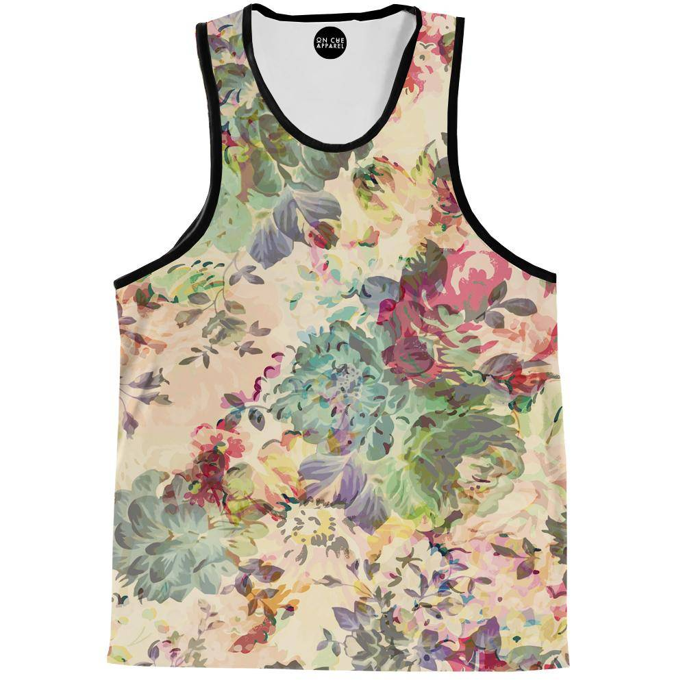 Flower Abstraction Tank Top