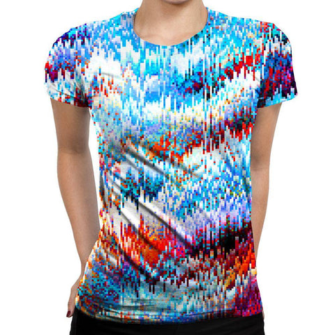 Image of Pixel Womens T-Shirt