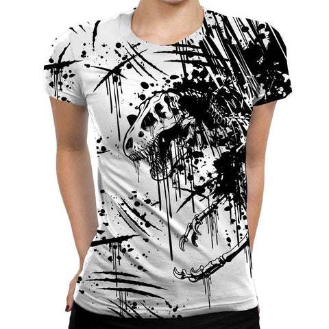 T-Rex Womens T-Shirt