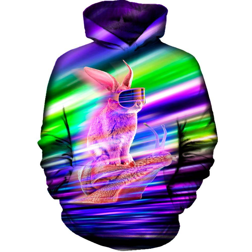 Rabbit Speed Womens Hoodie