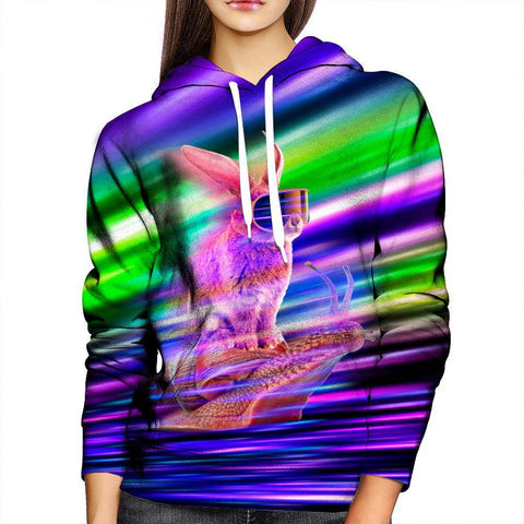 Image of Rabbit Womens Hoodie