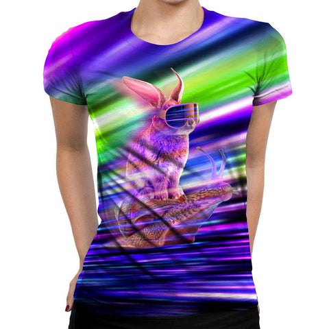 Image of Rabbit Womens T-Shirt
