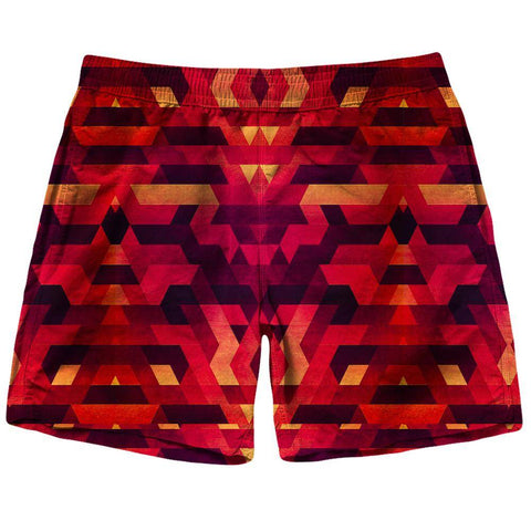 Image of Geometric Shorts