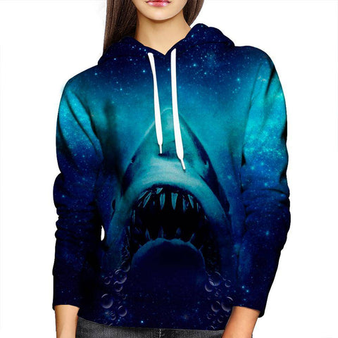 Image of Shark Womens Hoodie