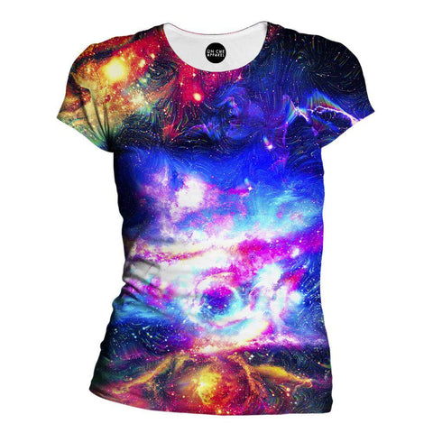 Image of Lucid Galaxy Womens T-Shirt