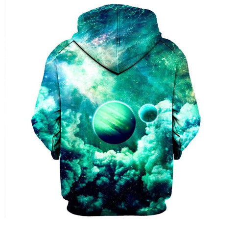 Image of Green Planet Hoodie