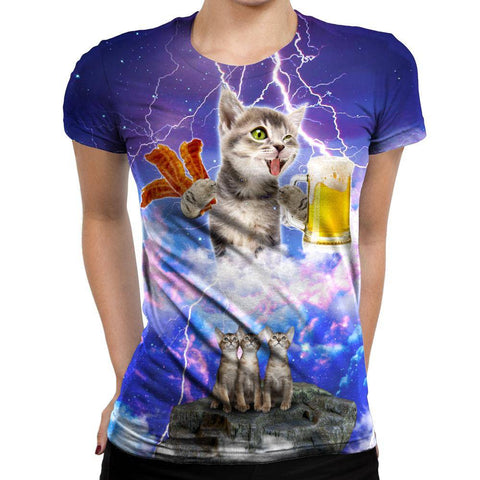 Image of Kitties Womens T-Shirt