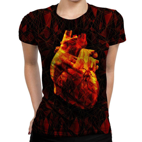 Heart Womens T-Shirt