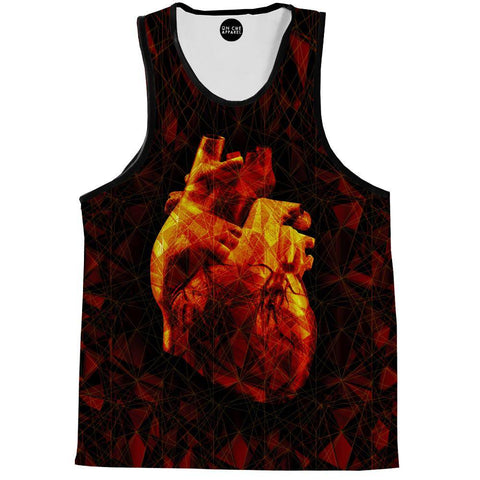 Geometric Heart Tank Top