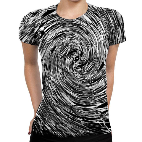 Image of Geometric Womens T-Shirt