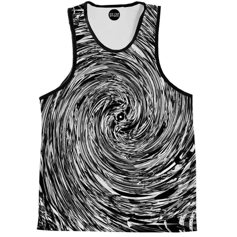 Image of Geometric Spin Tank Top