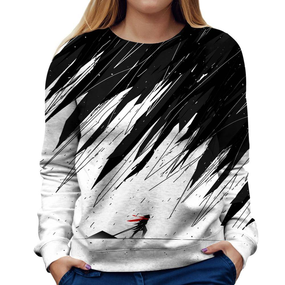 Geometric Womens Sweatshirt