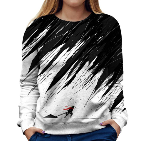 Image of Geometric Womens Sweatshirt