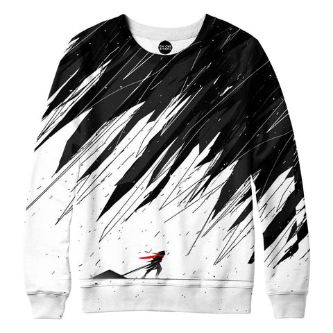 Image of Geometric Storm Womens Sweatshirt