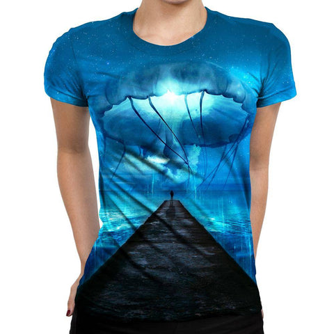 Image of Jellyfish Womens T-Shirt