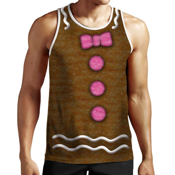 GingerBreadMan Tank top