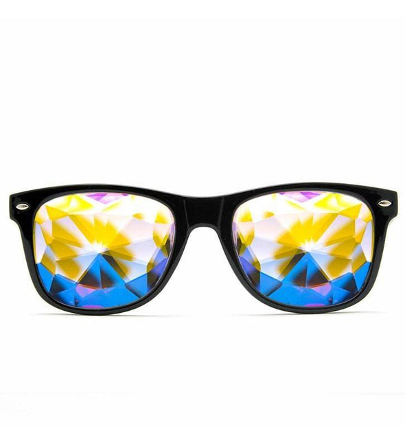 GloFX Ultimate Kaleidoscope Glasses- Black