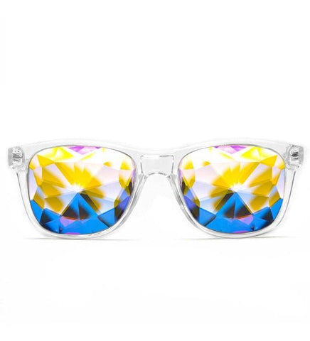 GloFX Ultimate Kaleidoscope Glasses- Clear