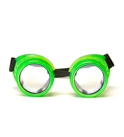 Image of GloFX Glow Green Diffraction Goggles