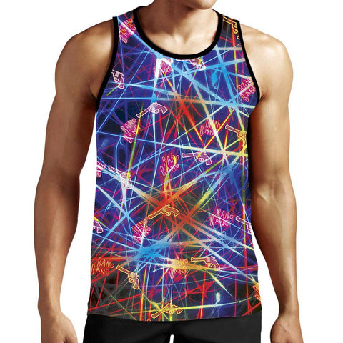 Image of guns Tank top