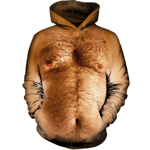 Image of Hairy Chest Hoodie