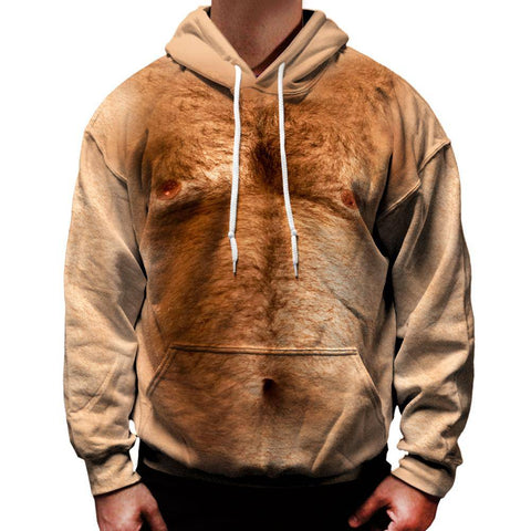 Hairy Chest Hoodie