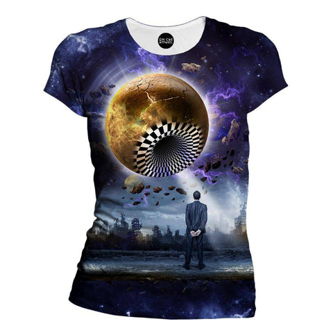 Image of Planetary Hole Womens T-Shirt