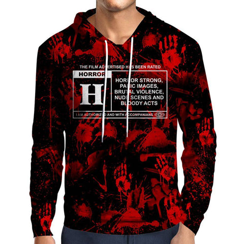 Horror Film Classification Hoodie