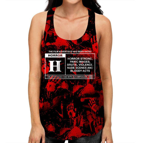 Horror Film Classification Racerback