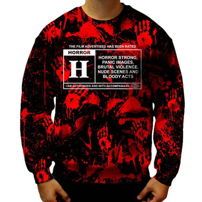 Horror Film Classification Sweatshirt