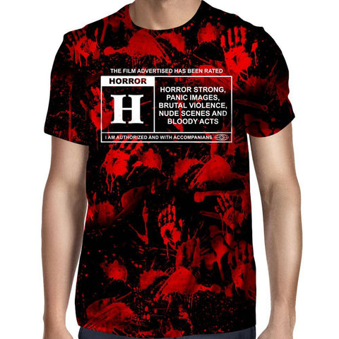 Image of Horror Film Classification T-Shirt