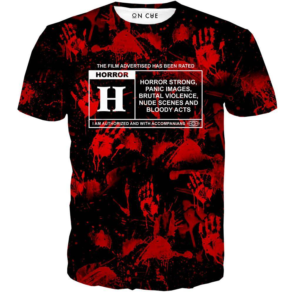 Horror Film Classification T-Shirt