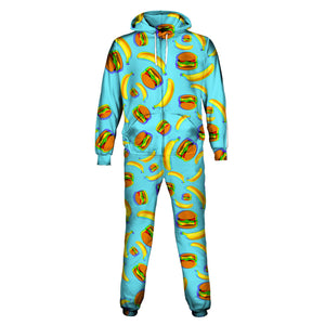 Banana And Burger Onesie