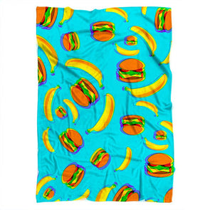 Hamburger Blanket