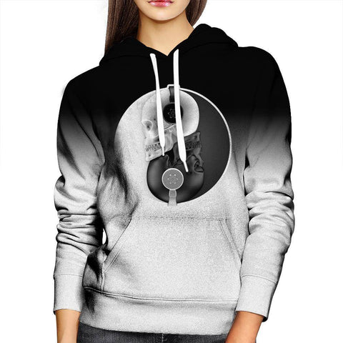 Headphone Womens Hoodie