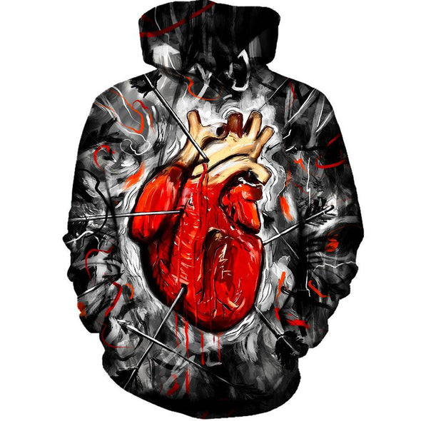 Heart And Arrows Hoodie